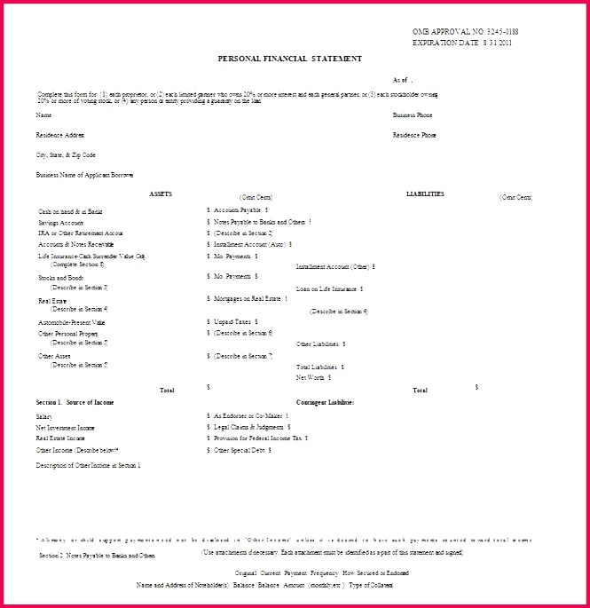 Business Monthly In e Statement Template Elegant Basic Financial Statement Template Bire 1andwap