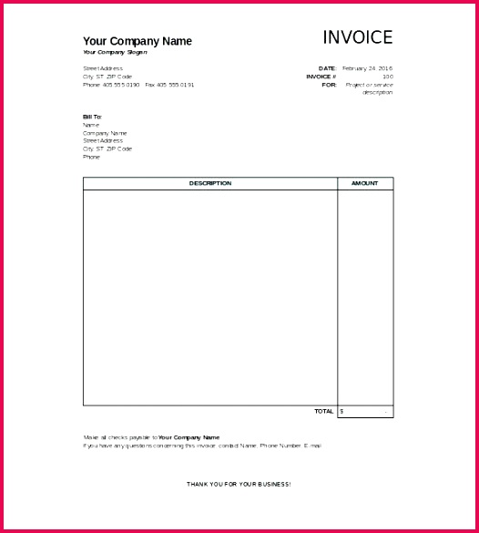 free invoice template pdf blank invoice template awesome invoice template free hotel invoice template