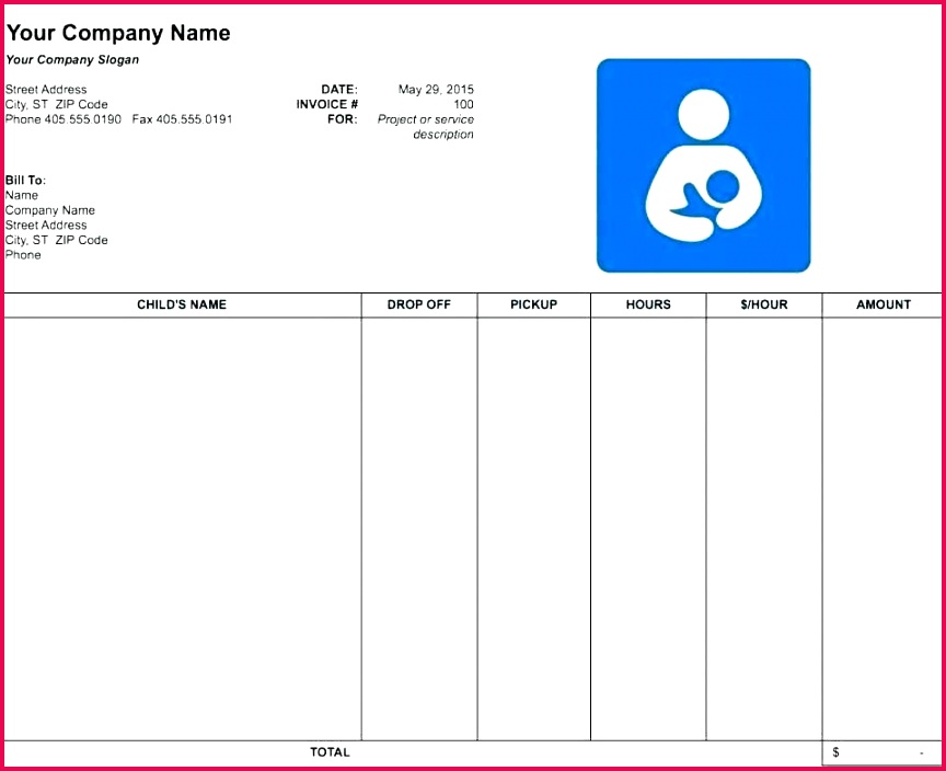 Excel Bill Template Free Templates Receipt Consultant Billing Invoice