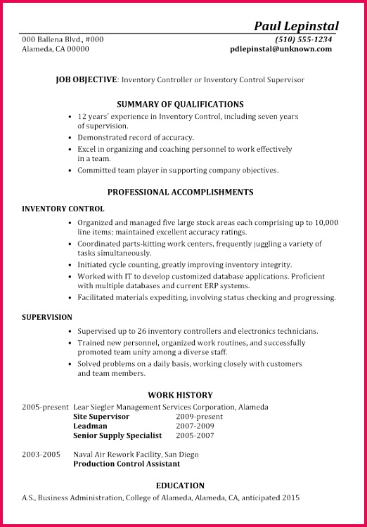 Inventory Resume Free Proposal Courier New American Resume Sample New Student Resume 0d Free
