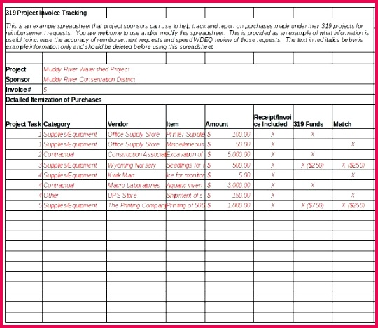 5 invoice tracking system excel 33739