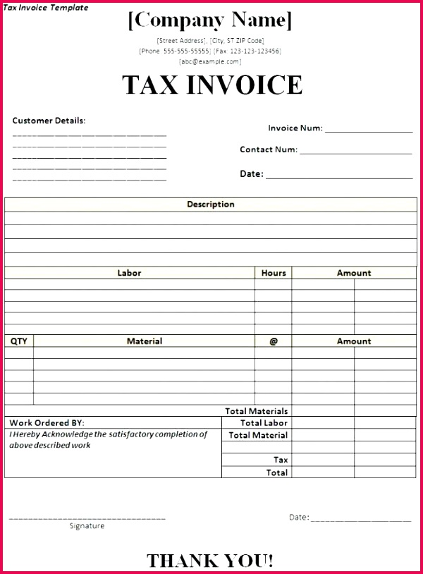 Jewellery Invoice format Invoice Template Excel Download Free Free Download Sample Tax