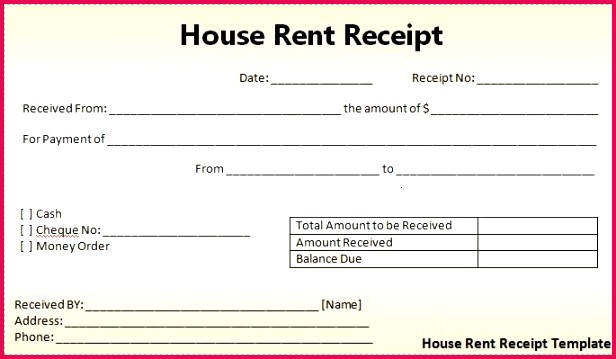 Rent Receipts the Download button to Get This House Rent Voucher Receipt Sample