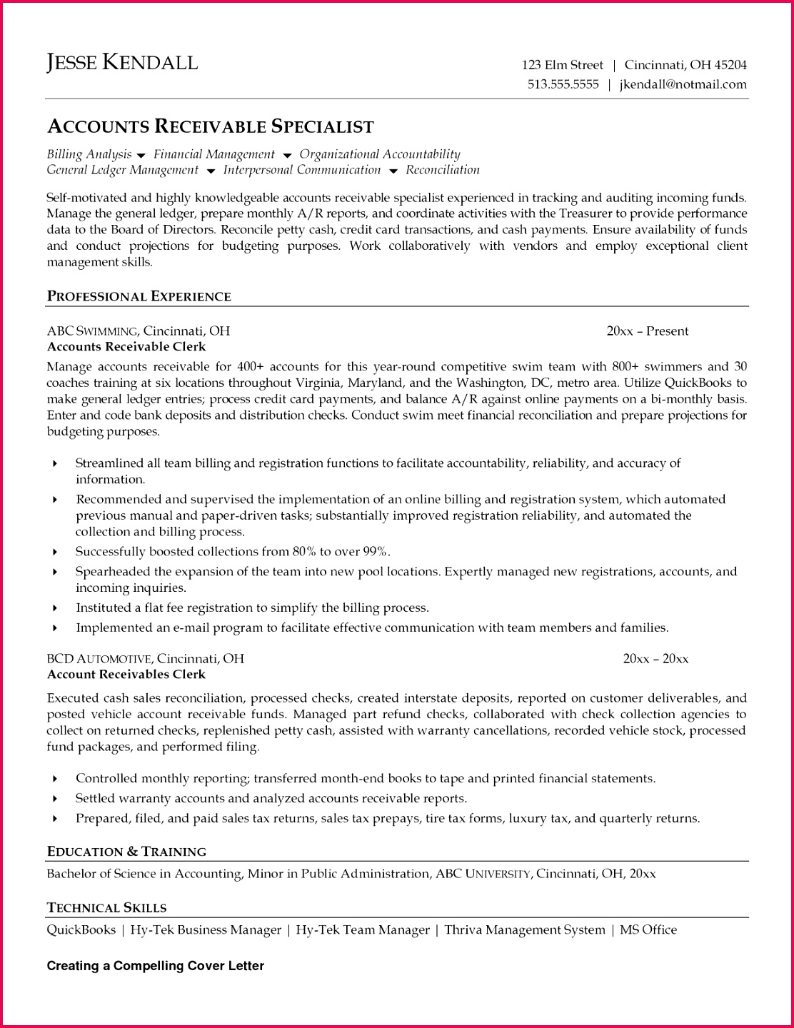 general ledger experience resume awesome cota resume template beautiful fishing resume 0d of general ledger experience