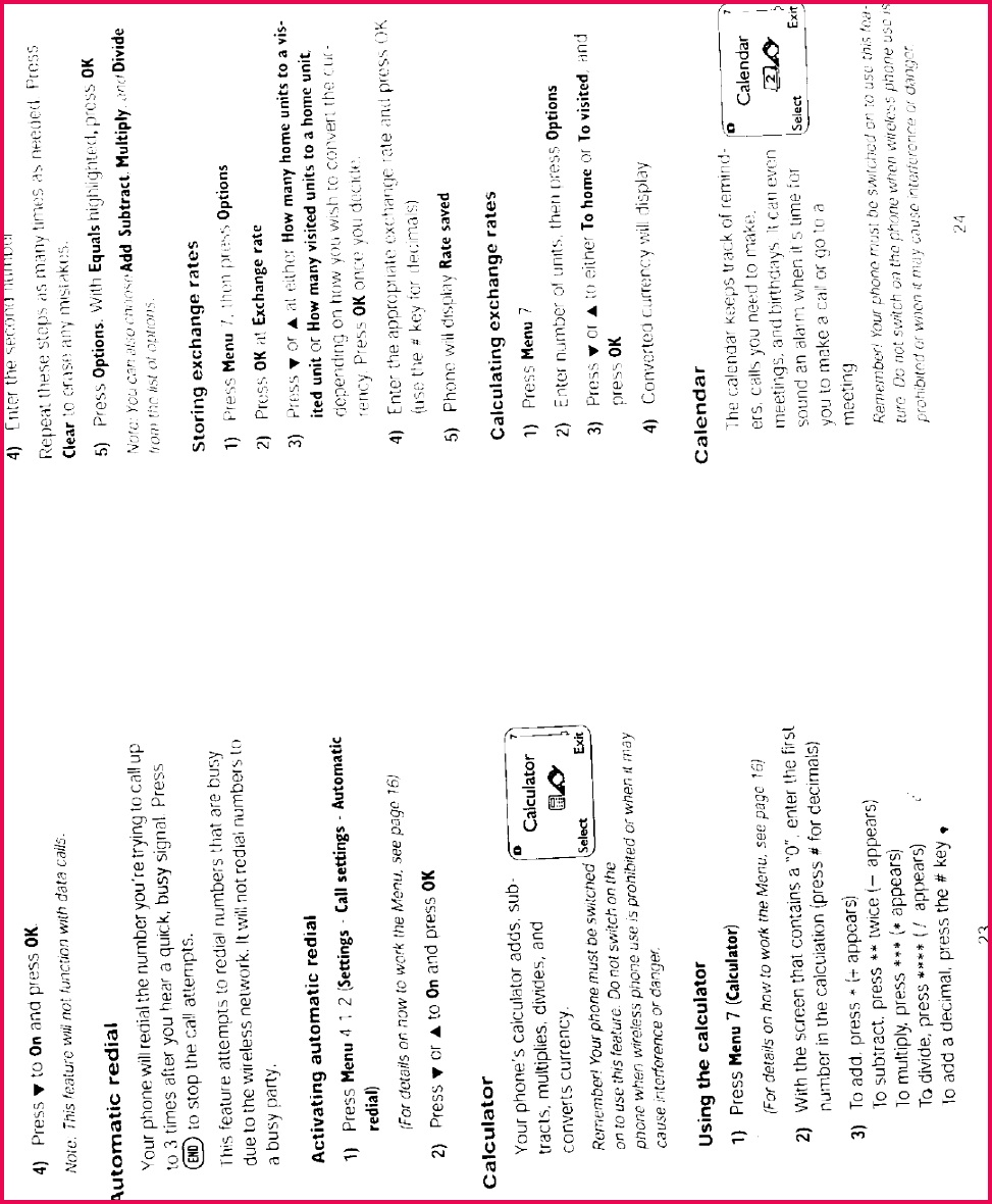 Page 8 of NSW 3ND User Manual 1322 Microsoft Mobile Oy