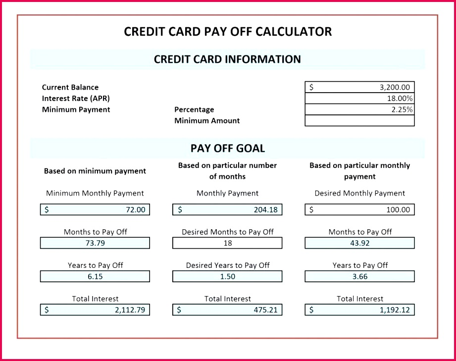 7 Monthly Amortization Schedule Excel Template 61996 ...