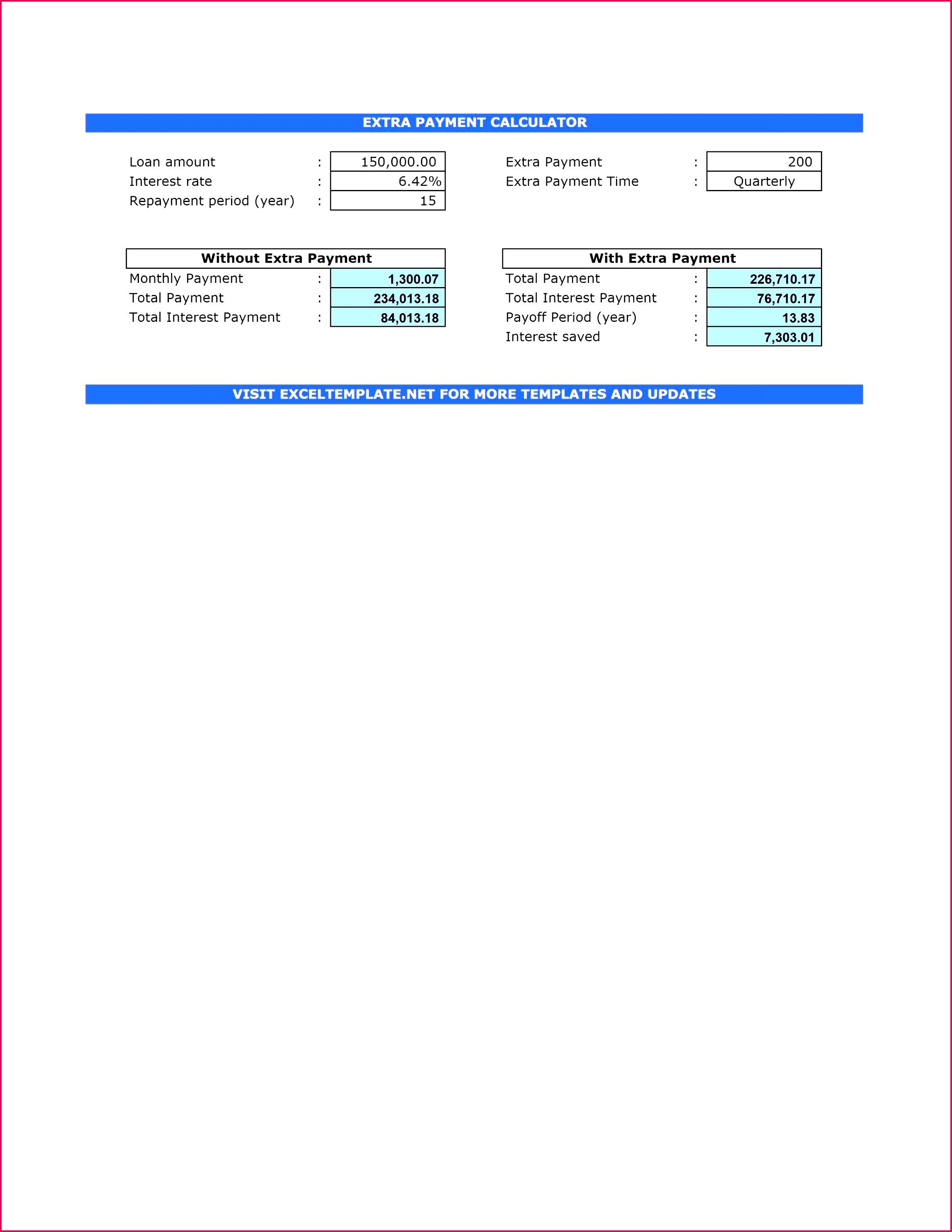 Car Loan Amortization Schedule Excel Luxury Car Loan Amortization Schedule Excel Best Car Loan Excel Template