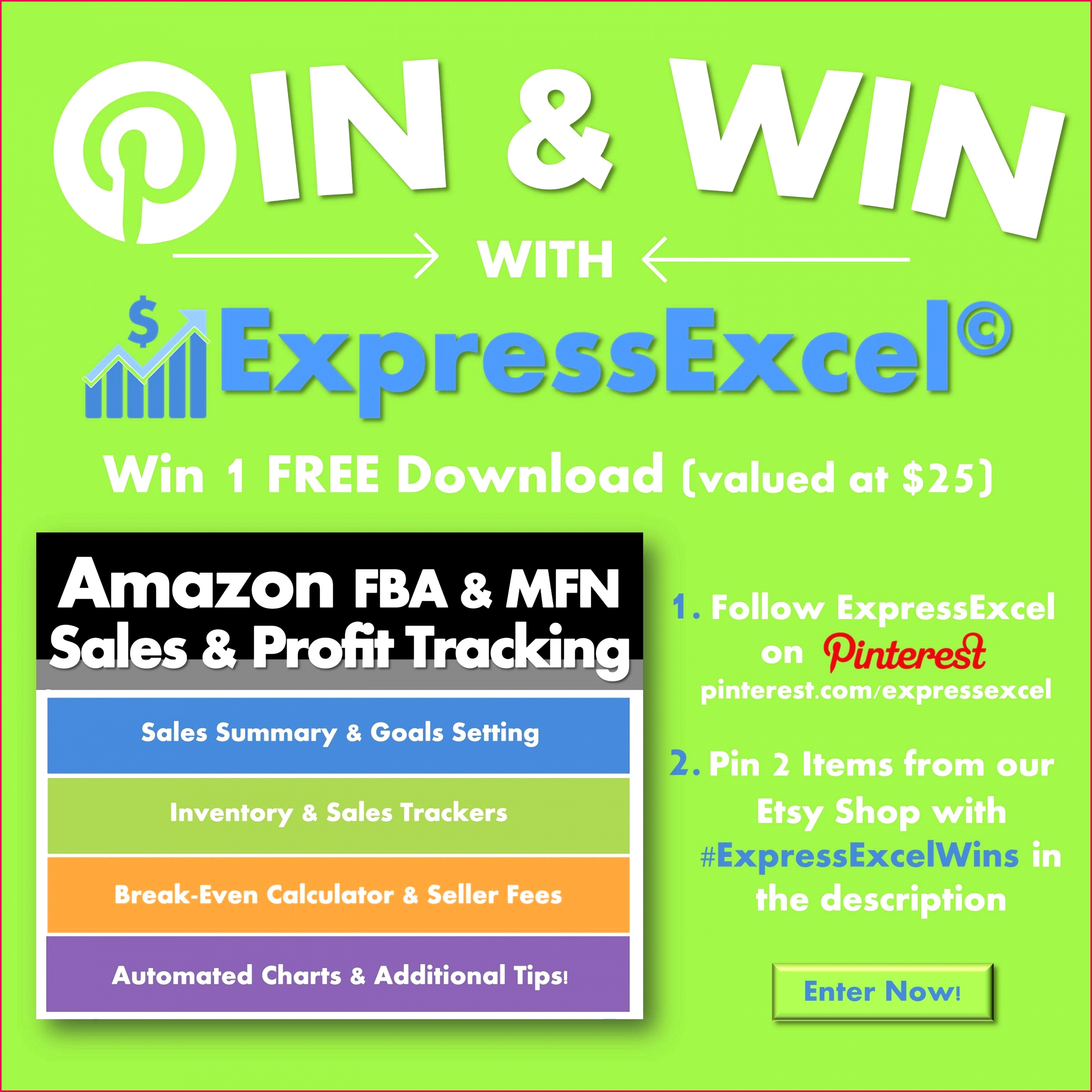 PRIZE The winner will receive 1 Free Download of one of ExpressExcel s Business Management Excel