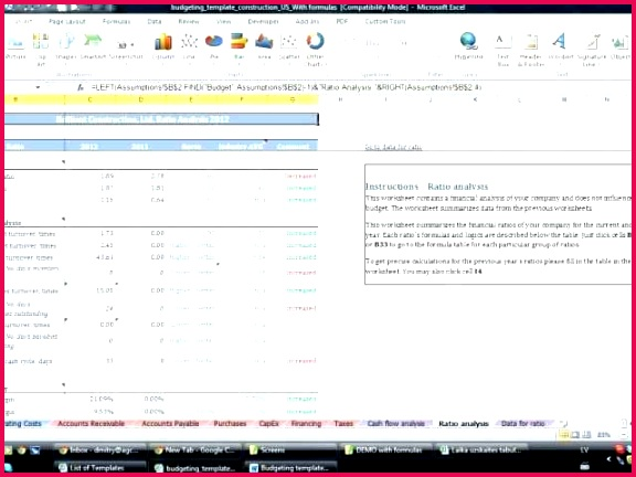 construction accounting excel template how construction pany excel templates