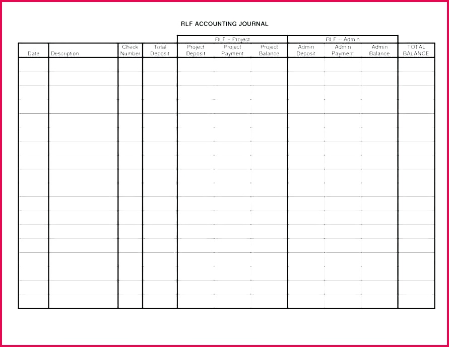 accounting journal templates inspirational general template excel double