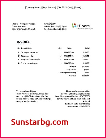 Unique Invoice Template In Excel 2010 How to Make An Invoice Excel Unique I Pinimg originals A6 0d B8