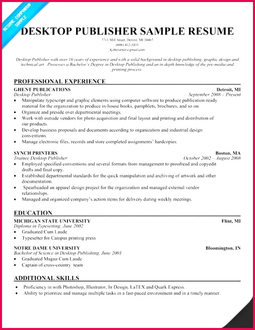 It Resume Template Amazing Executive Resume Examples Good Resume Examples 0d Simple Resume