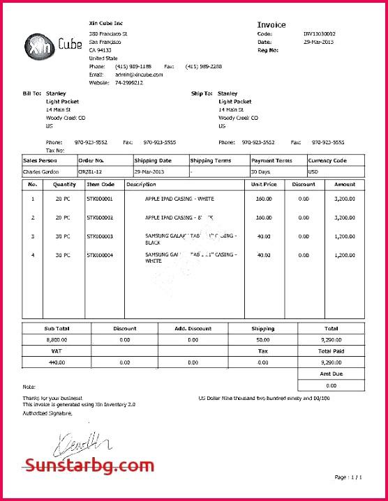simple excel invoice template Luxury Microsoft Excel Invoice Templates Bes Excel Invoice Template