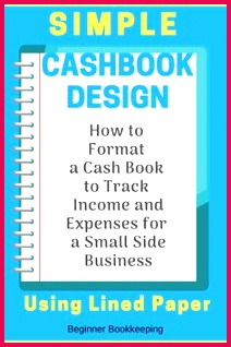 Simple Cash Book Format Design for Quick Money Tracking