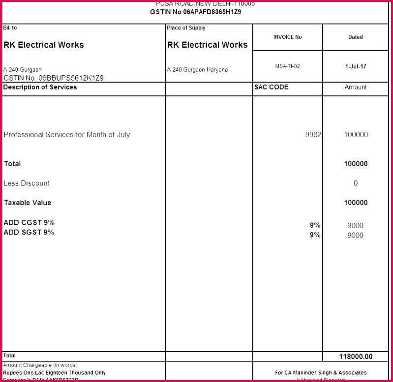 tax invoice template free n word excel doc impressive australia form format for co