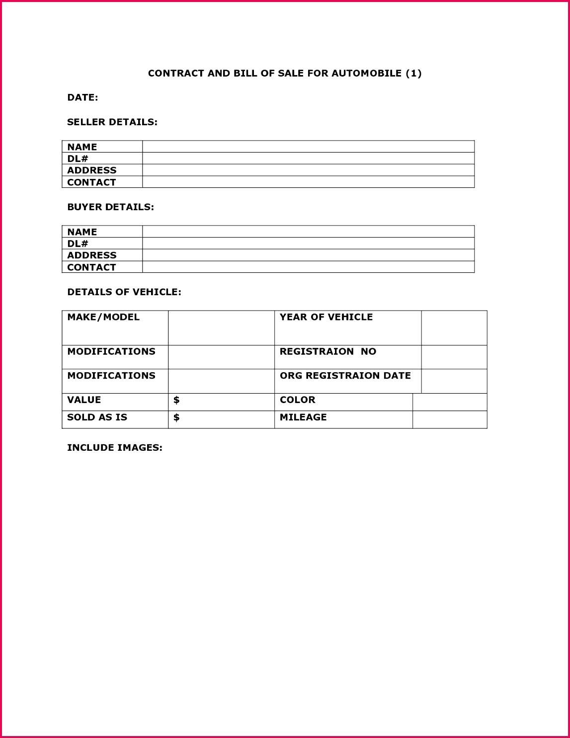 Mileage Template Excel Vehicle Sale Contract Inspirational Used toyota Avensis 2 0d Excel