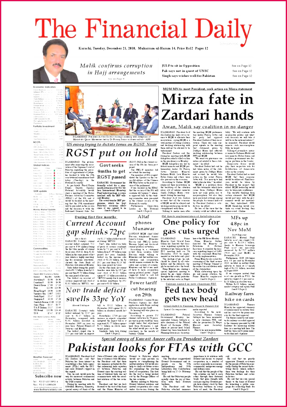 The Financial Daily Epaper 21 12 2010