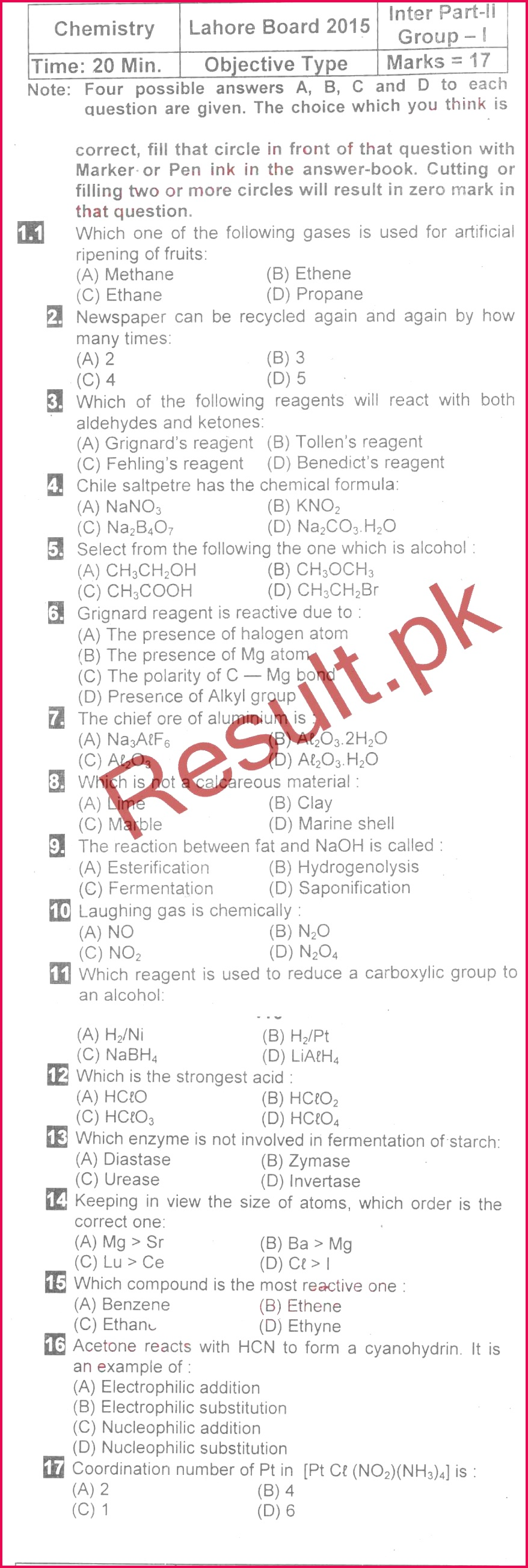 9th Bise lahore 9th class english medium past papers the main concern of board of intermediate and