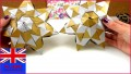 6 Christmas origami Template