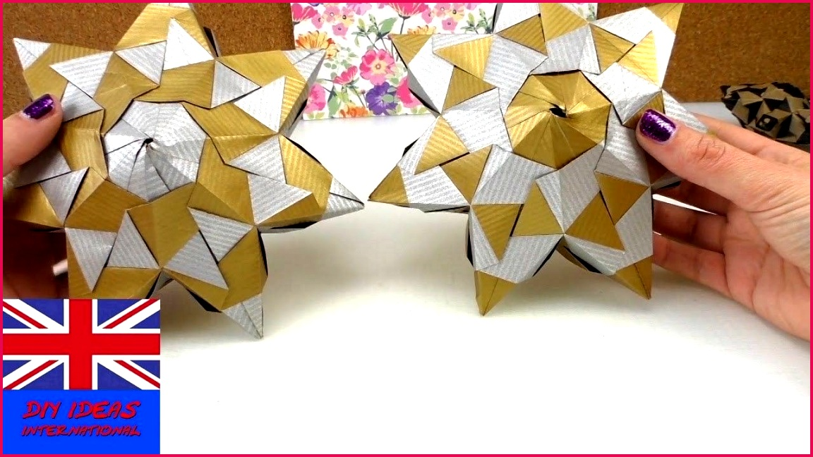 Star Papercraft How to Make An origami Star for Christmas origami Star
