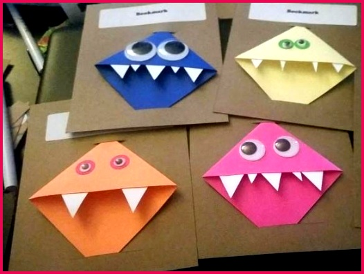 corner bookmark template origami templates free
