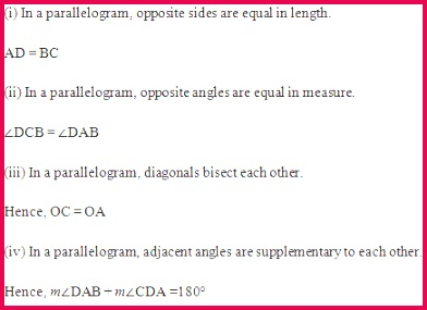 Chapter 3 Understanding Quadrilaterals Excercise Ex 3 3