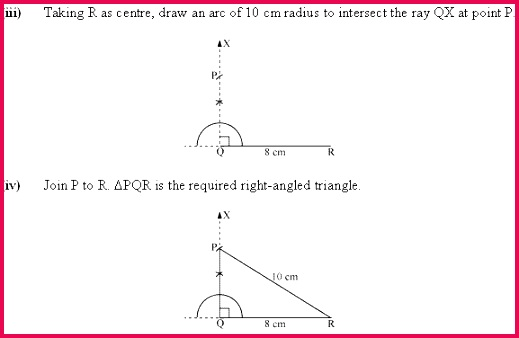 NCERT Solution for Class 7 Mathematics Chapter 10 Practical Geometry Page Excercise 10 5