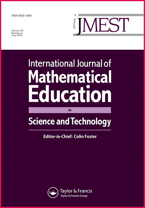 International Journal of Mathematical Education in Science and Technology Vol 50 No 5