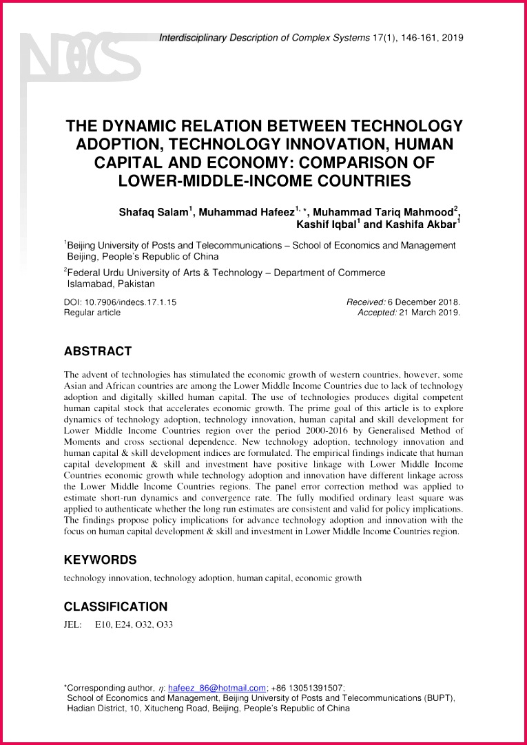 PDF The Effects Science Technology Innovation petitiveness And Economic Growth