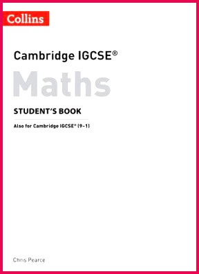 Cambridge IGCSE Maths Student s Book Preview