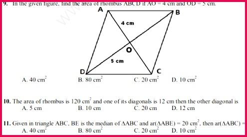 class 9 maths MCQs 19c