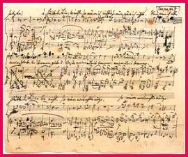 musical notation sheet music