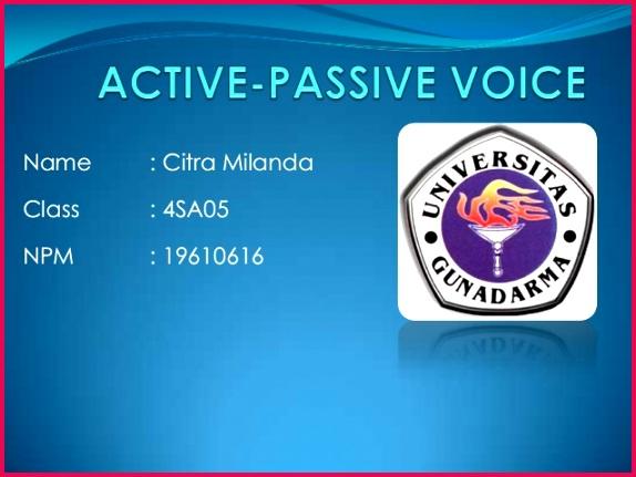 active passive voice 1 638