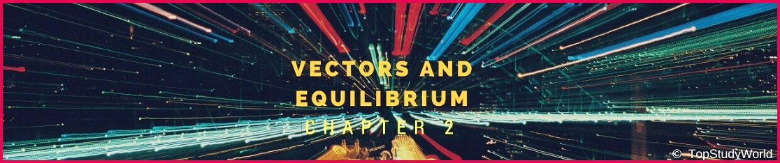 Chapter 2 Vectors and Equilibrium Notes for Class 11 [FREE PDF]