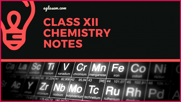 Class 12 Notes Chemistry Alkyl Halides and Amines Short