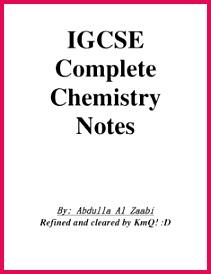 Chemistry Revision Notes IGCSE Gcse Chemistry Revision Study Chemistry Chemistry Help Chemistry