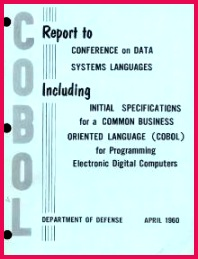 Report to Conference on Data Systems Languages including initial specifications for a mon Business