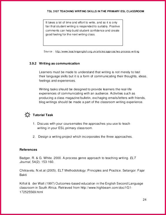 23 24 TSL 3107 TEACHING WRITING