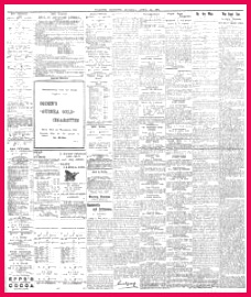 Advertising 1901 04 22 Evening Express Welsh Newspapers line The National Library of Wales
