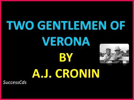 Two Gentlemen of Verona Explanation