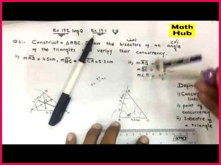 Math Class 9th Ch 17 Ex 17 2 Q1 part 1 3