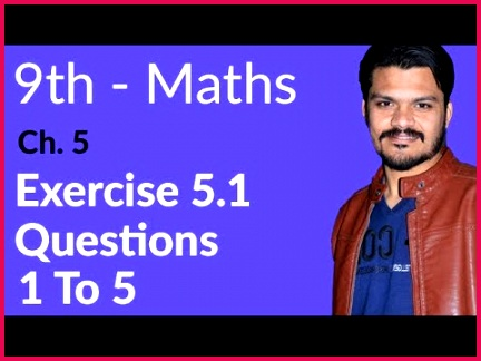 9th Class Math Exercise 5 1 Question no 1 to 5 Chapter 5 Factorization Matric part 1 Math