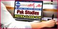 Class 9 Pak Studies Fbise Notes Ideological Basis Pakistan Exercise