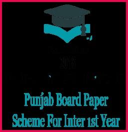 Physics 1st year 2018 Punjab Board