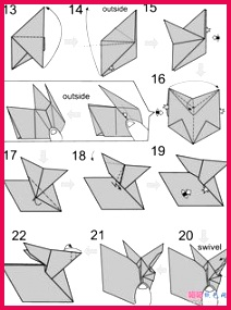 origami rabbit origami rabbit is very easy to make Just follow our detailed instructions and