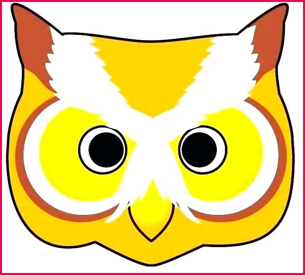 3d bird template kids face masks owl mask templates to print fabric