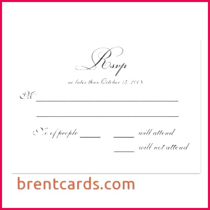 wedding reply card templates free printable cards superb donor template
