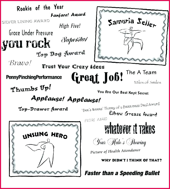 sample employee recognition award certificate titles of the year template ideas literals service anniversary temp