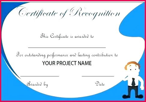 employee recognition certificate template business work anniversary of the month letter certificates templates certific