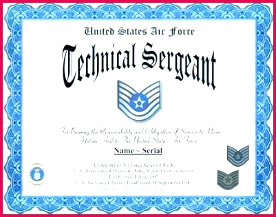 air force promotion certificate template grade images of free printable army school 2 8th pletion